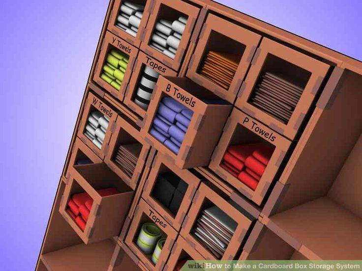 Shelf out of cardboard (the shelf)