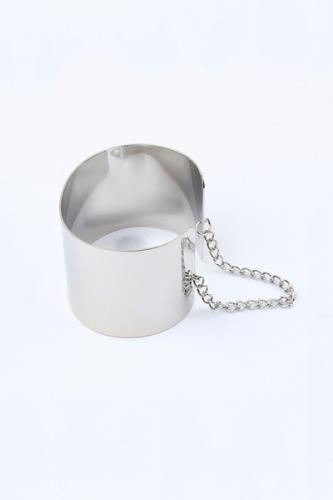 Shiny Plate Cuff Bracelet