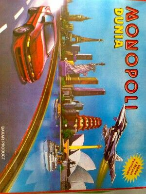 Monopoli mainan anak 5 in 1 40rb sms 085642917567