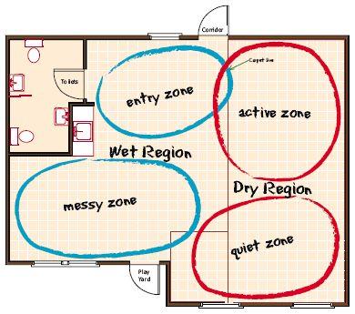 10 Best Nursery Floor Plans Images On Pinterest Daycare