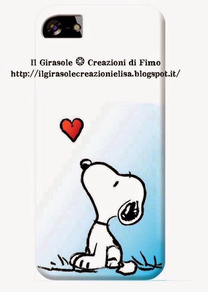 Cover per cellulare con Snoopy, by Il Girasole ❂ Creazioni di Fimo, 11,00 € su misshobby.com