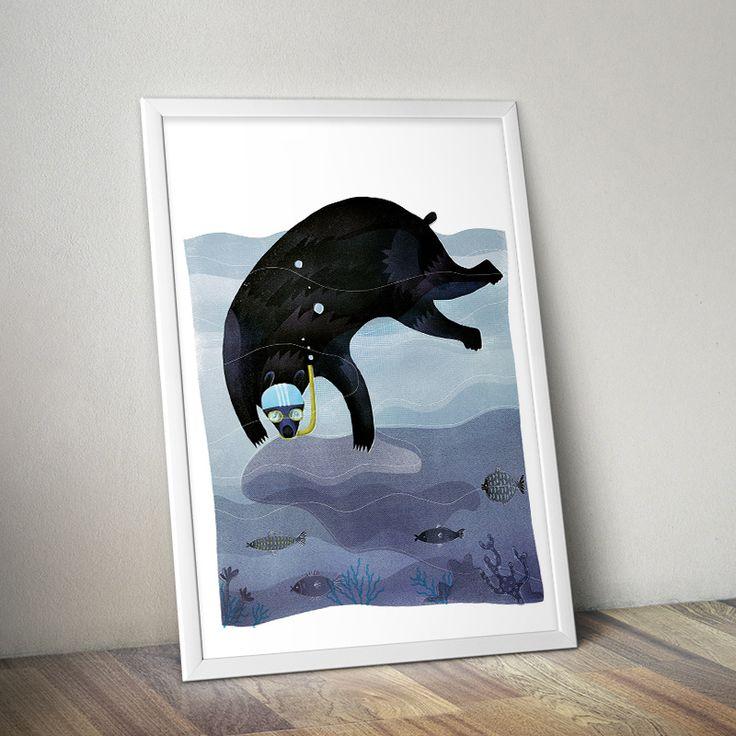 'Diver' by Anna Rudak