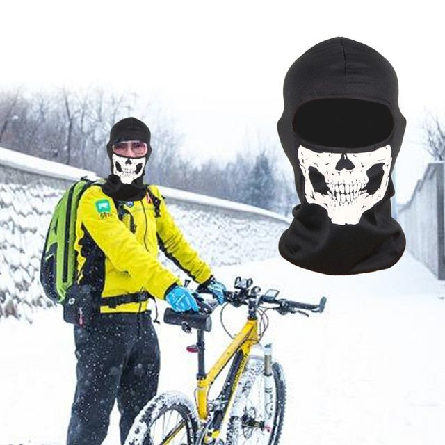 Outdoor Windproof Bike Bicycle Mask Winter Warm Half Face Mask