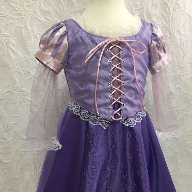 Rapunzel dress rapunzel costume tangled dress