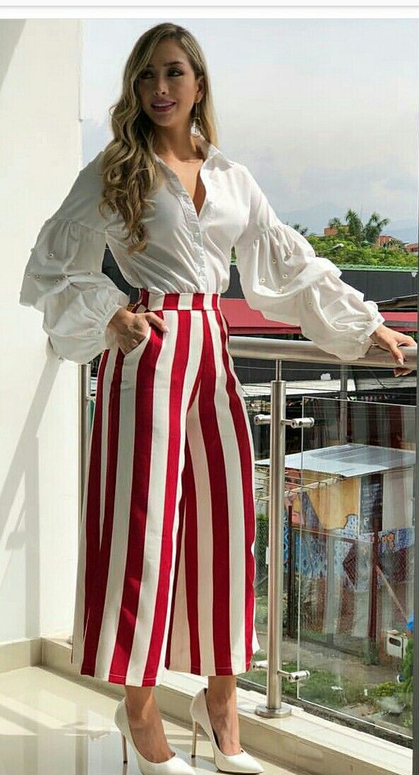 Pin De Doris En Disenos Ropa Ropa Elegante Moda Pantalones De Moda