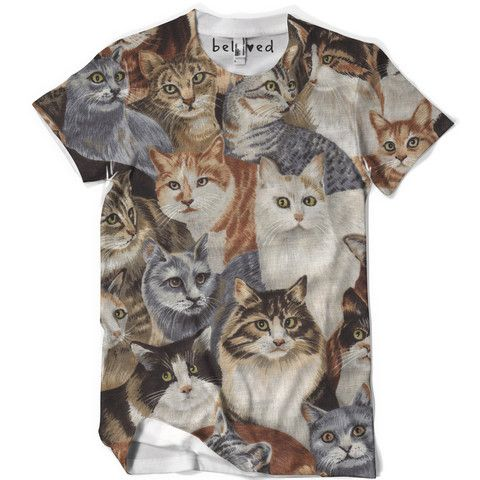 Mens Cats Tee