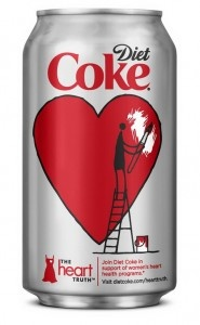 Diet Coke has teamed up with actress Minka Kelly, fashion designer Diane von Furstenberg and the National Heart, Lung, and Blood Institute's (NHLBI) to launch The Heart Truth campaign.