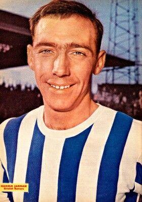 Harold Jarman of Bristol Rovers in 1964.