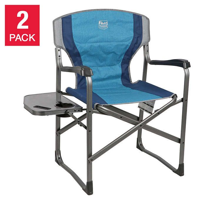 Timber Ridge Folding Director S Chair 2 Pack Directors Chair