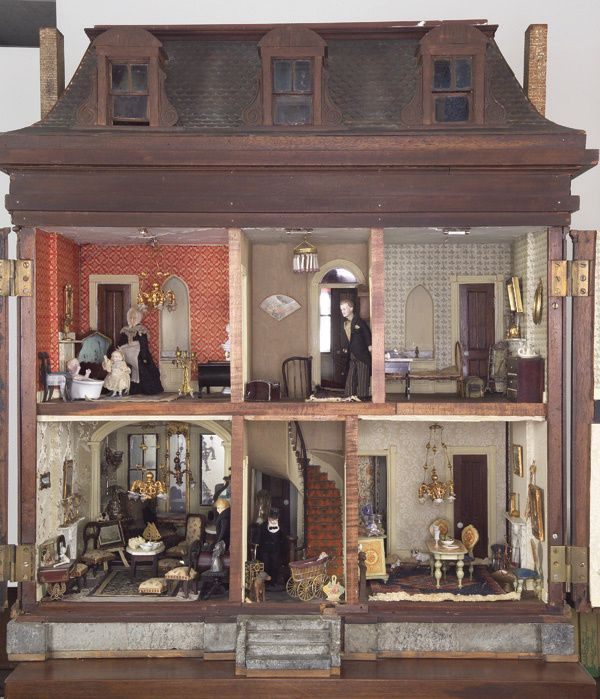 99 Best Images About Doll Houses/Miniatures