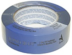 Allpro Blue Tape  An exceptional quality blue tape with an affordable price tag. 7-Day UV resistant flexible blue crepe paper masking tape with excellent pressure sensitive qualities. Indoor and outdoor use on glass, vinyl and wood where clean removal is required