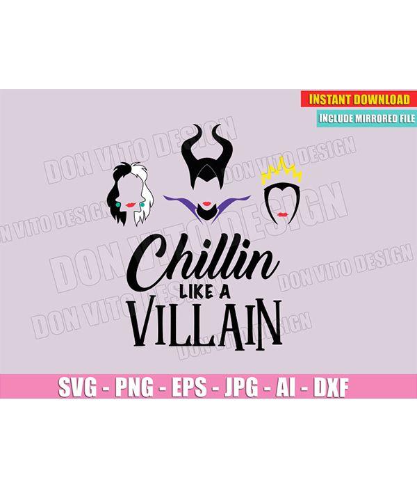 Pin On Disney Villains Svg Files