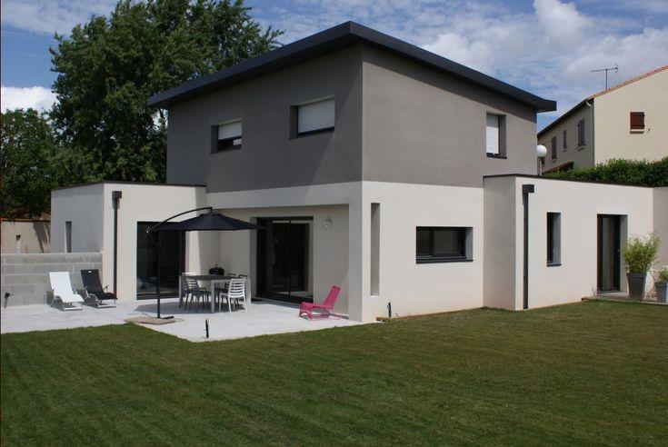 """Photo N°822339 - Facade sud - Maine Et Loire (49) - Projet """"Maison moderne BBC"""" - ForumConstruire.com"""