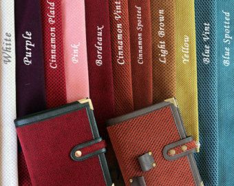 Customize Your Planner /Personal Size / A5 Bordeaux Faux Suede Covered Filofax Organizer/ Planner Binder / Planner Cover