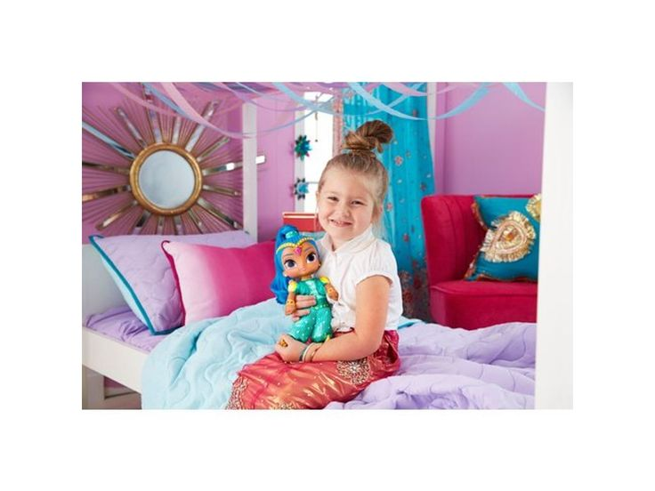 Fisher-Price Shimmer and Shine Talk and Sing Shine Doll