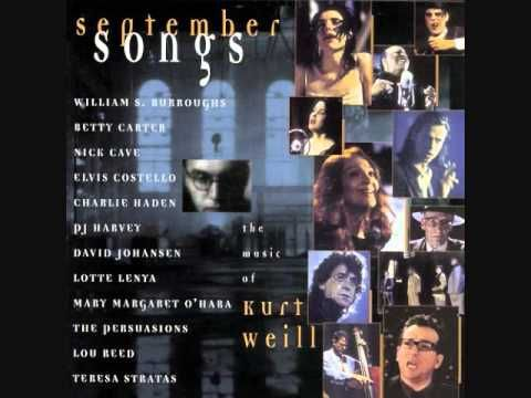 Kurt Weill / Charlie Haden - Speak Low -composed by Kurt Weill, lyrics by Ogden Nash [1943] C.H. version recorded in 1997, taken from the album 'September Songs' - The Music of Kurt Weill.