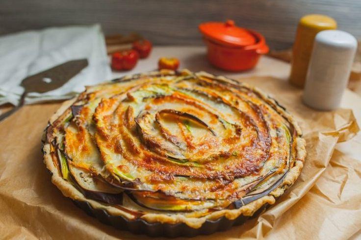 Пирог «Овощная роза» / Едальня