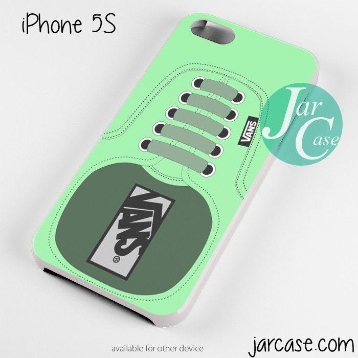 Green Vans Shoe Phone case for iPhone 4/4s/5/5c/5s/6/6 plus