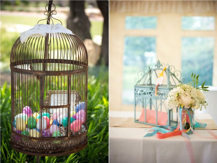 590 best images about divers d coration mariage on pinterest wedding deco and candy bars for Cages a oiseaux decoratives