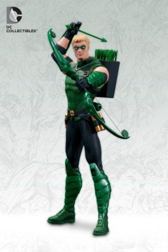 DC Comics the New 52 Green Arrow 7 Inch Action Figure by Dc Collectibles. $27.94. Impressive detail, from his bow and arrow to his belt. Add the renegade Oliver Queen to your DC Comics collection!. The Emerald Archer from the pages of The New 52's Green Arrow from DC Comics is also an articulated action figure. The Green Arrow The New 52 Action Figure stands about 7-inches tall and boasts amazing detail, from his bow and arrow to his belt.. The Emerald Archer! Green Arrow Act...