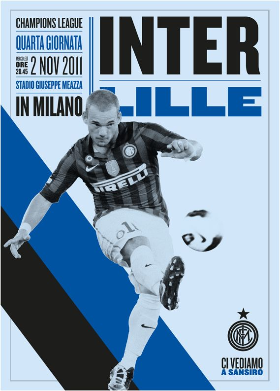 Inter Milan posters by Leftloft