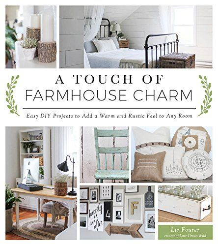 4 Simple Rustic Farmhouse Living Room Decor Ideas: A Touch Of Farmhouse Charm: Easy DIY Projects To Add A