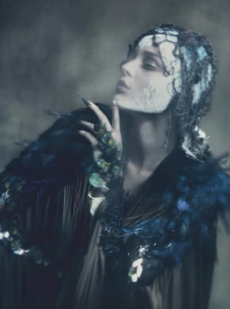 haute couture by paolo roversi | vogue Italia, september 2011