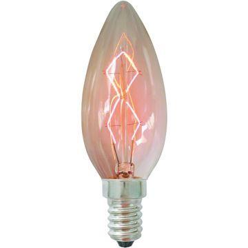 Bec decorativ Edison B35 40W E14, 220-240V