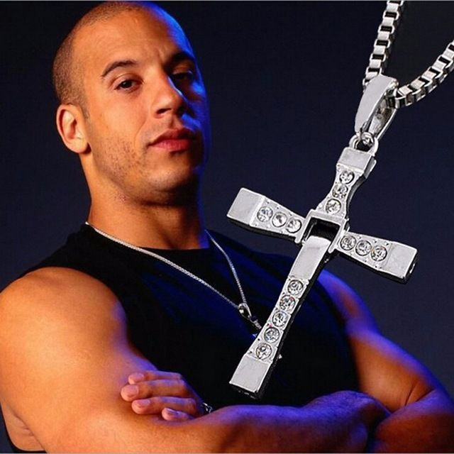 The Fast and Furious Crystal Cross Men Necklaces //Price: $9.99 & FREE Shipping //     #hashtag4