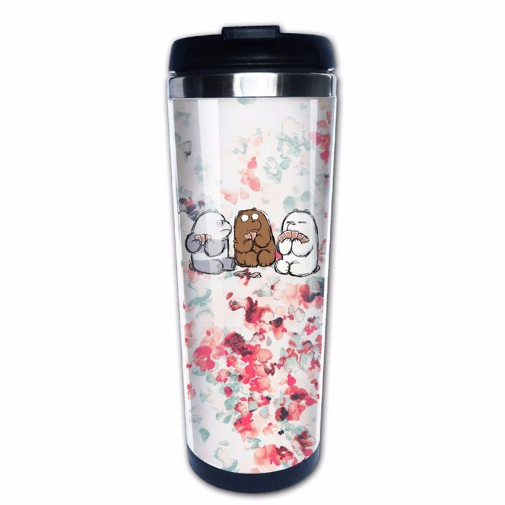 We Bare Bears Double Insulation Coffee Mug Best Cup Travel Tumbler #Affiliate