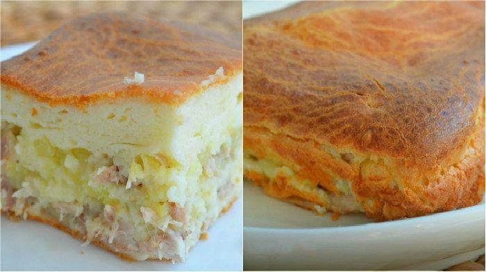 Невесткин пирог - очень простой рецепт на скорую руку