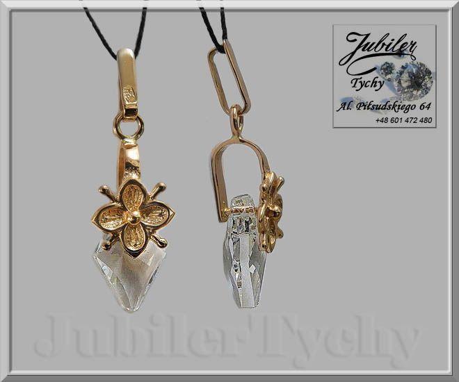 Złoty wisiorek z kryształem górskim 💎🎁💥 #Złoty #wisiorek z #kryształem #górkskim #złota #przywieszkia #Złoto #Gold #kryształ #górski #Złote #wisiorki #przywieszki #biżuteria #jubilertychy #Jubiler #Tychy #Jeweller #Tyski #Złotnik #Zaprasza #Promocje:  ➡ jubilertychy.pl/promocje 💎