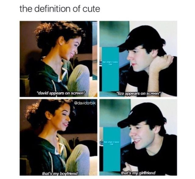 LIZA AND DAVID ARE OTP (if you are interested in watching my babies please watch their YouTube channels @liza Koshy and @david dobrik)