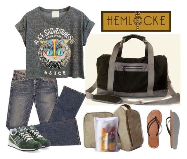 Hemlocke Sports Bag by hemlocke on Polyvore featuring Elizabeth and James, Abercrombie & Fitch and New Balance
