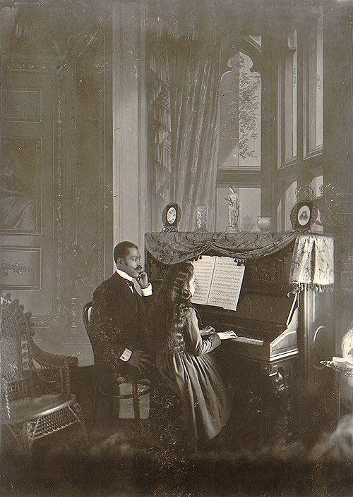 Rare Vintage Pictures Show Black Families, Children, Ladies and/or Gentlemen in the Victorian Era
