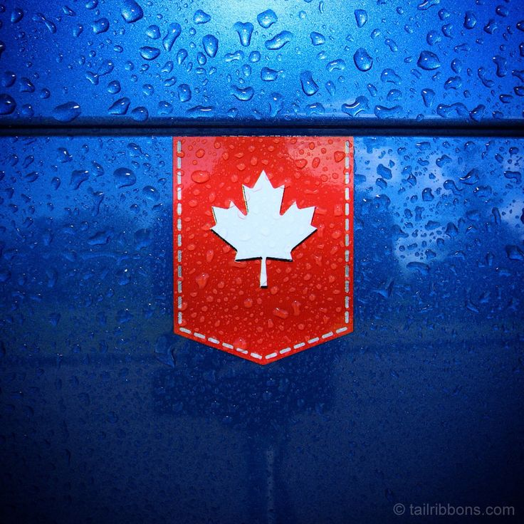 Canada Maple Leaf car sticker