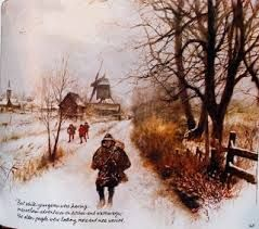 rien poortvliet - winter in Nederland