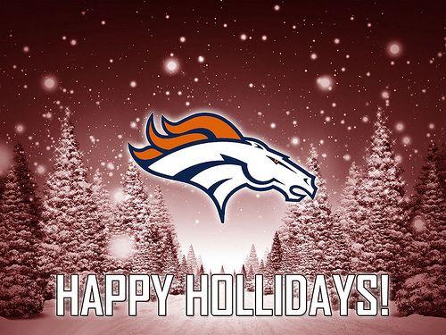#Denver Broncos Happy Holidays