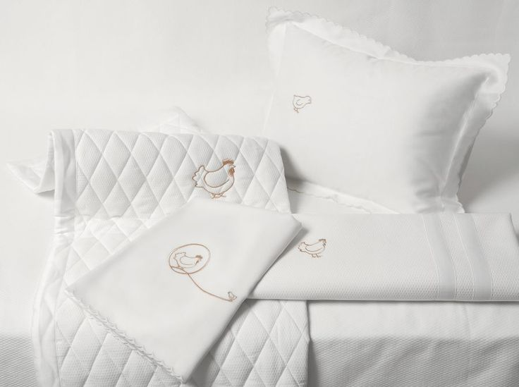 Quagliotti Baby Collection. #Quagliotti #baby #linen #sheets #pillows #luxury #home