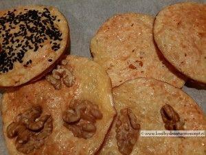 geräucherter Käse-Cracker