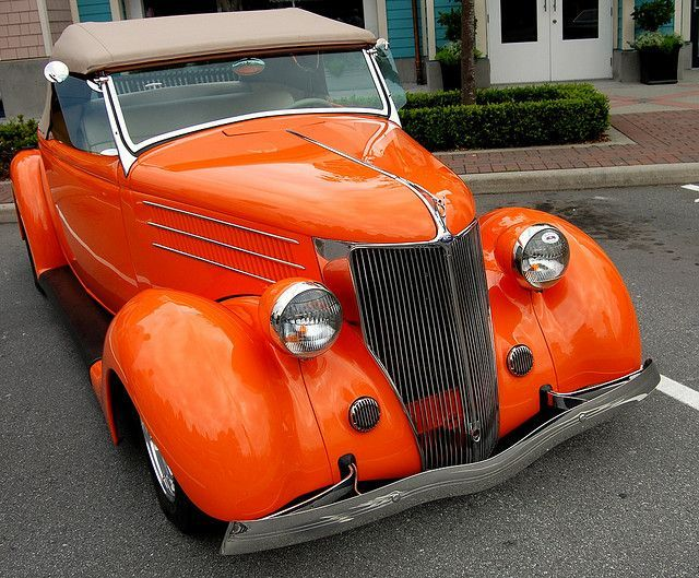 1936 Ford Sweetbrought To You By Of Insurance For Old And New Con