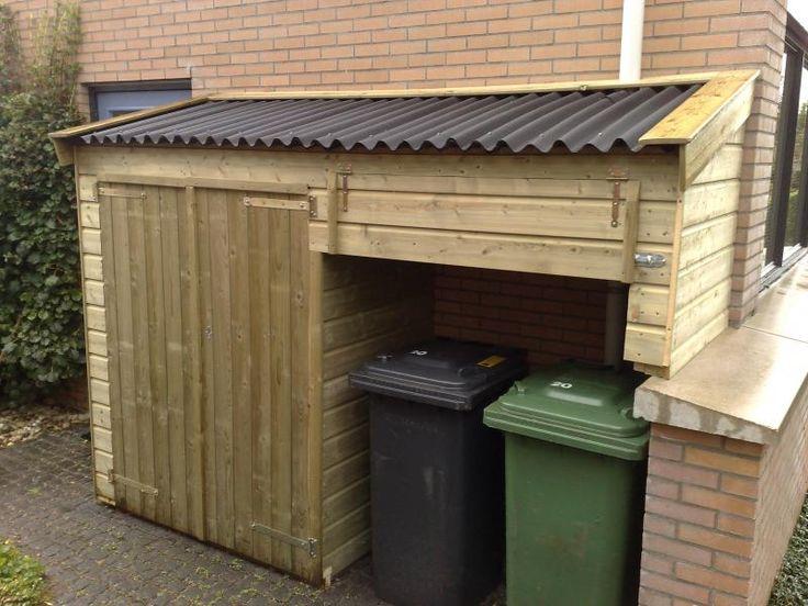 Container tuinkast - Drenthen hout- en constructiebedrijf