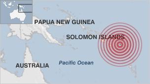 Quake off Solomon Islands triggers tsunami
