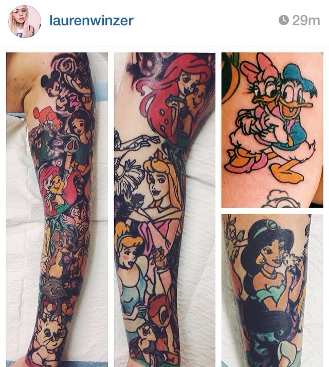 This is the sickest disney sleeve I've seen