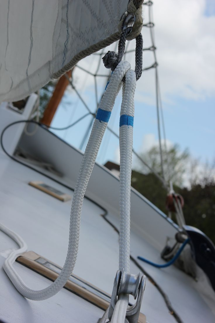 #classic #ropes #yachting #sailing #vela #ropeonline #eyesplice #premiumropes #ropework #rigging #ropesplicing #splicing