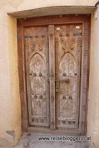 reich verzierte Tür