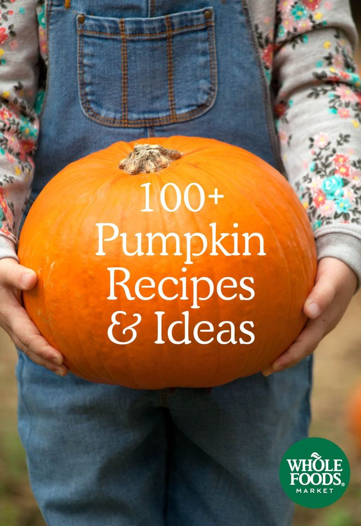 100+ Pumpkin Recipes // When choosing fresh pumpkins for cooking, avoid the large carving varieties used for jack-o-lanterns, which are thin-walled, stringy and lack the rich flavor you want when baking or cooking. Cooking varieties such as pie pumpkins (also known as sugar pumpkins) are small but heavy for their size — about 5 to 7 pounds. The shape is not important.