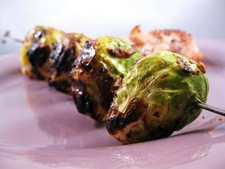Cara's Cravings » Grilled Brussels Sprouts