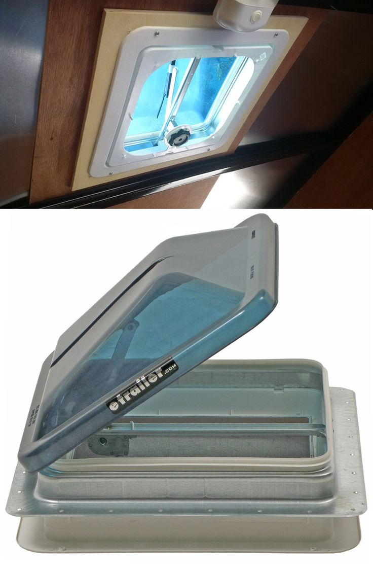 Trailer Roof Vent: Make sure on RV adventures that the motor home has air circulation and keeps the interior ventilated without compromising security.