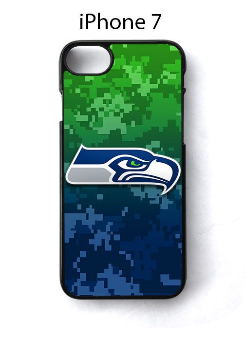 Seattle Seahawks on Camo iPhone 7 Case Cover